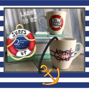 Nautical Mug Set (2)
